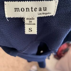 Monteau Tops - Scalloped Edge Dressy Tank